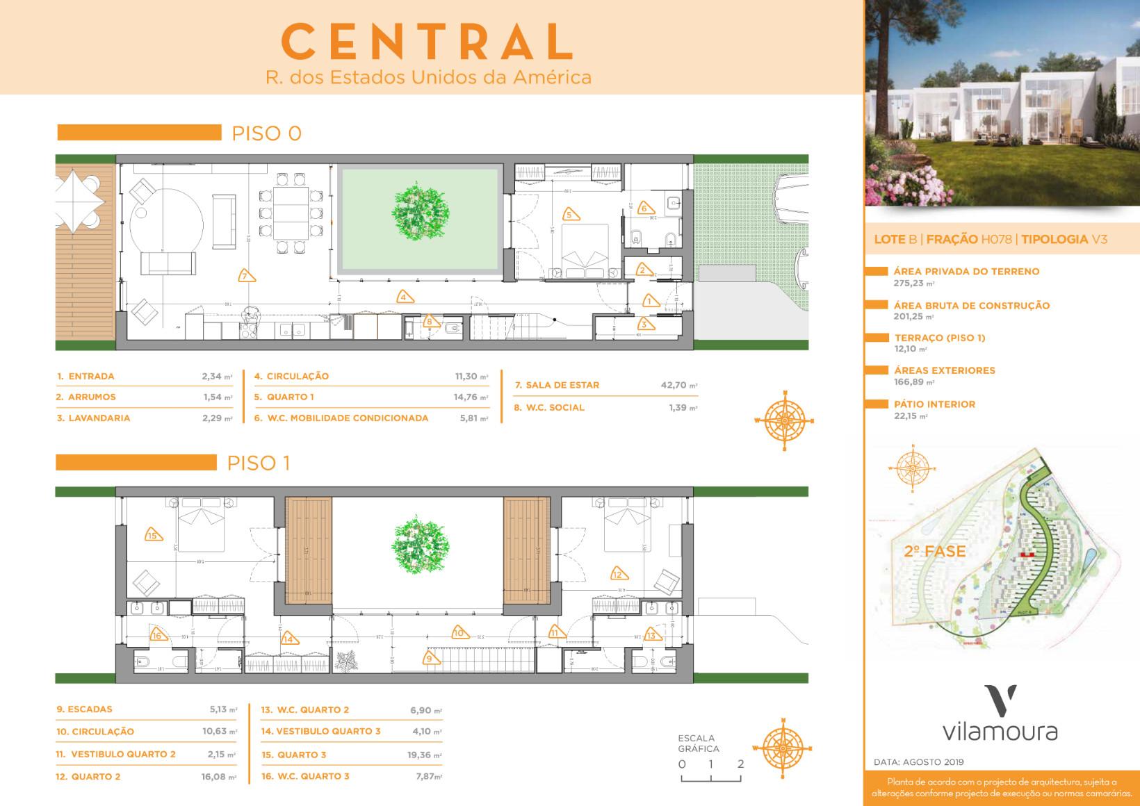 Villa V3 Floor Plans